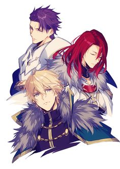 Fate/Grand Order || Gawain (Saber) || Tristan (Archer) || Lancelot (Saber) || Knights of the Round Table