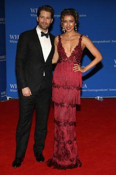 Matthew Morrison and Renee Morrison