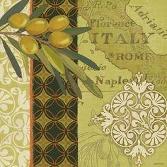 Olives Rome by Jennifer Brinley   Ruth Levison Design