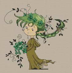 Tengo este patrón, pídanlo ♥♥   forest elf