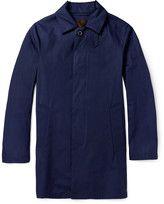 Porter-mackintosh storm system cotton rain coat