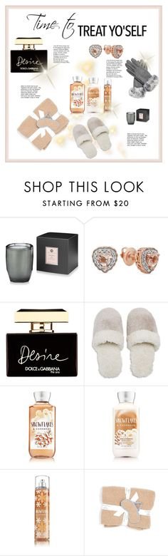 """""""Untitled #188"""" by jez-alex ❤ liked on Polyvore featuring Hotel Collection, Dolce&Gabbana, Natori and White + Warren"""