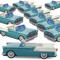 Classic Cruisers� 55 Chevy Bel Air Paper cartons Set
