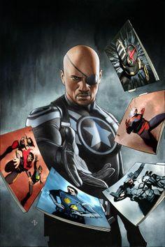 Nick Fury Jnr - bring back Nick Fury Snr.