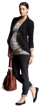 Maternity business casual style for work clothing
