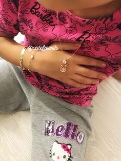 Hello Kittyli kolyeler ve daha fazlası instagram: @sedefjewels 💖🎀💐🛍✨