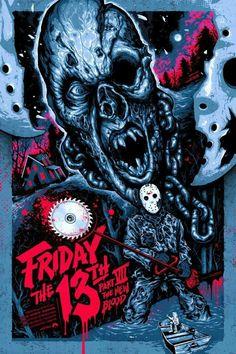 Friday the 13th Part 7, Jason movie fan art find