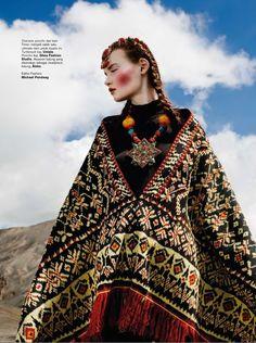 Kseniya Shapovalova by Nicoline Patricia Malina for Harper's Bazaar Indonesia September 2014