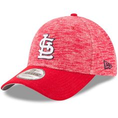 2c5e954ff8e11 Men s St. Louis Cardinals New Era Red Terry Fresh 9FORTY Adjustable  Snapback Hat