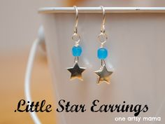 Little Star Earrings: Wire Wrapping Tutorial