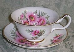 English Tea Sets For Two | English Tea Cup Bone China Tea Cups and Saucers from England
