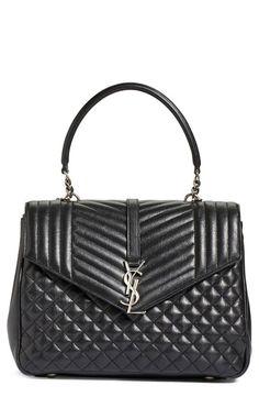 cec1f5e8a609 Saint Laurent Bags Collection   More Details Quilted Handbags