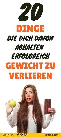 20 Fehler die du beim Abnehmen vermeiden solltest, um erfolgreich Gewicht zu verlieren #Fitness #Tipps #Deutsch via @kraftpuls