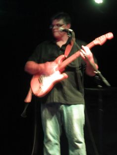 Our songwriter and guitarist Jim at 89North Avenue Venue in Patchogue