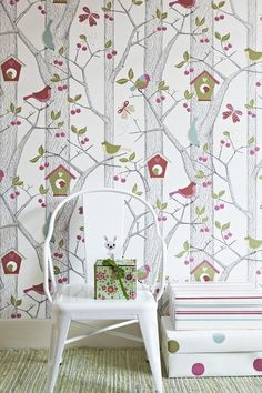 childrens wallpaper idea