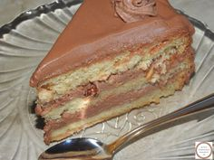 Nutella, Cake Recipes, Dessert Recipes, Romanian Food, Oreo Dessert, Homemade Cakes, Something Sweet, Sweet Desserts, Bakery