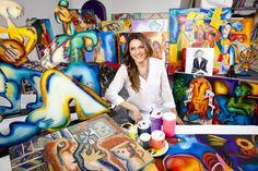 Alexandra Nechita, paintings - ego-alterego.com