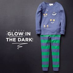 Embrace the cooler winter nights with our fun Glow in the Dark PJ's! Available at selected #seedheritage stores.