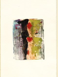 monotype print by Jack Janisch uploaded by Patrick Magee