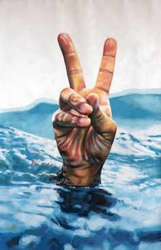 """Saatchi Art Artist Thomas Saliot; Painting, """"The impossible cool"""" #art"""