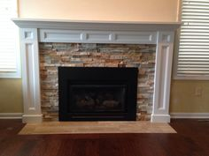 Fireplace Refacing For The Home Pinterest Fireplace Ideas Fireplace Refacing And
