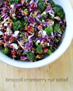 Recipe: The Coveted Broccoli Cranberry Nut Salad - crafterhours