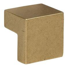 Atlas A865 Successi Collection 0.98 Inch Small Square Knob