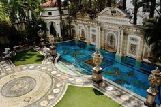 Versace Mansion in South Beach, Miami - Life in Sketch