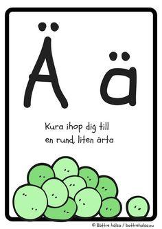 aktiviteter för barn, barnaktiviteter, pyssla och lek, knep och knåp, lära sig alfabetet, lära sig bokstaven Ä, röra på sig, lekar, rörelselekar