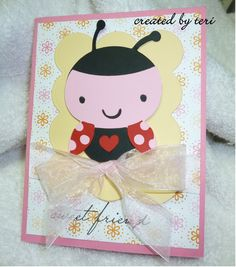 Create a Critter - Ladybug