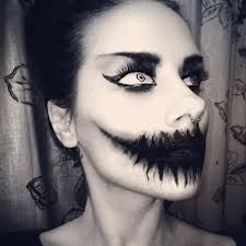 scary doll face paint - Google Search