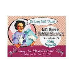 62 best vintage bridal shower invitations images on pinterest retro bridal shower invitation pink filmwisefo