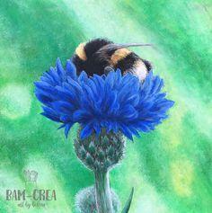 Bumblebee - bam-crea Animals, Fictional Characters, Art, Art Background, Animales, Animaux, Kunst, Animal, Performing Arts