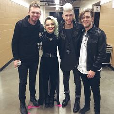 VERIDIA, Colton Dixon, and Seth Morrison from Skillet :)