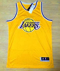 maillot nba pas cher Los Angeles Lakers Logo Jaune nouveaux tissu 22,99€