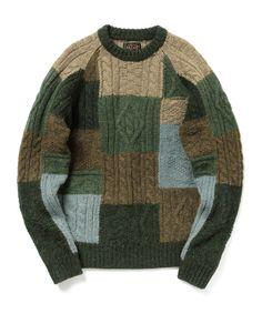 BEAMSビームスおすすめメンズセーターおしゃれ上手はレトロミックスを好む