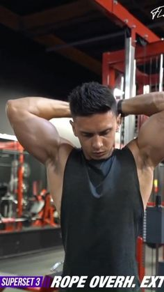 Bicep And Tricep Workout, Abs And Cardio Workout, Push Workout, Gym Workout Videos, Killer Workouts, Gym Workout For Beginners, Gym Workouts, Gentle Workout, Fitness Motivation