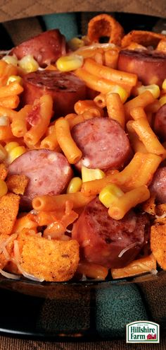 Mac & Cheese isn't just for kids anymore! Spice things up with this tasty Hillshire Farm® Smoked Sausage dish! Find this recipe and plenty of other tasty ideas here!