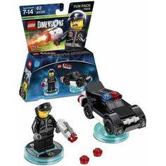 LEGO Dimensions Bad Cop (LEGO Movie) Fun Pack (Universal) - Walmart.com