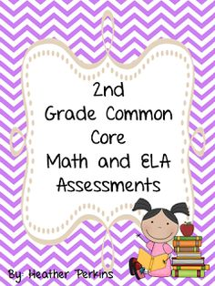 Second Grade Perks: Common Core Assessments Mega Pack Giveaway Common Core Ela, Common Core Curriculum, Common Core Standards, Second Grade Math, 2nd Grade Reading, Teaching Math, Teaching Ideas, Teaching Tools, Maths