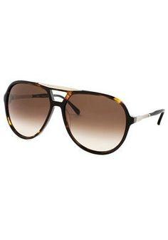 Aviator Sunglasses: Tortoise/Brown Gradient Chloe. $146.02. Save 59%!