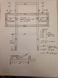 How to build a deadlift car frame