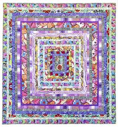 Additional Images of Kaffe Fassett's Quilts in Italy by Kaffe Fassett - ConnectingThreads.com