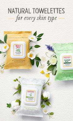 For healthy skin that shows, reach for our exfoliants and toners. Face Care Routine, Face Care Tips, Burts Bees Gift, Beauty Desk, Natural Facial, Bee Gifts, Facial Cleansing, Best Face Products, Makeup Remover