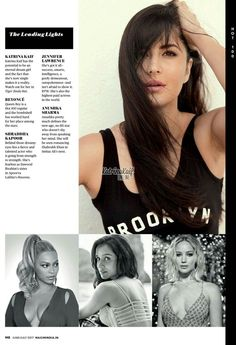 "Pallavi Bhoyar: ""Katrina Kaif in Maxim India Hot 100 List """