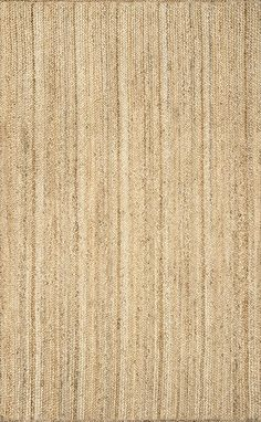 Amazon.com: nuLOOM Natural Hand Woven Rigo Jute rug Area Rug, 3' x 5': Kitchen & Dining