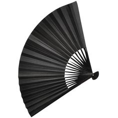 Black Chinese Fan 32cm ❤ liked on Polyvore featuring fillers, accessories, backgrounds and fan