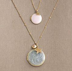 Petit Locket - Medium | Jewelry For Kids | Restoration Hardware Baby & Child