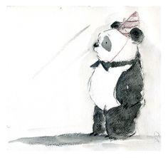 Matt Phelan's concept art for Xander's Panda Party