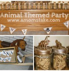 Cute #Animal themed #Birthday #Party Ideas!